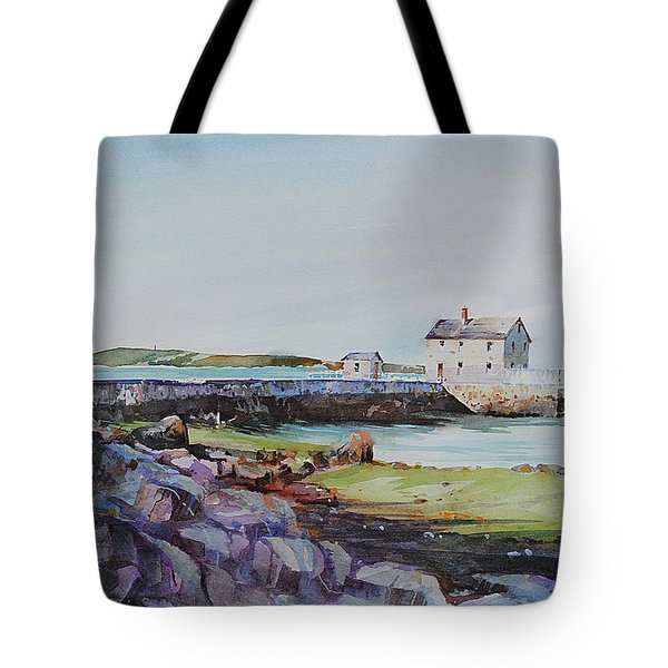 Delano's Wharf At Rock Nook Tote Bag