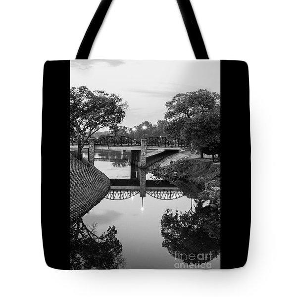 Delaware Creek At Dawn Tote Bag