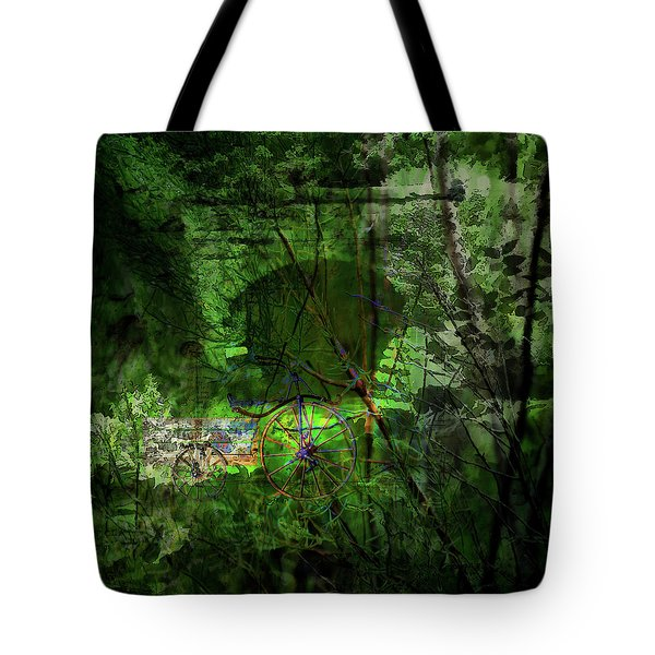 Delaware Green Tote Bag