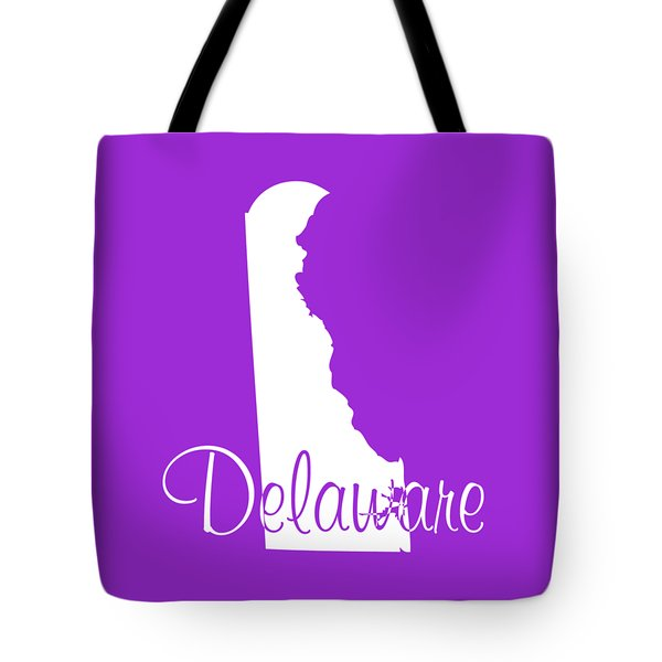 Delaware In White Tote Bag
