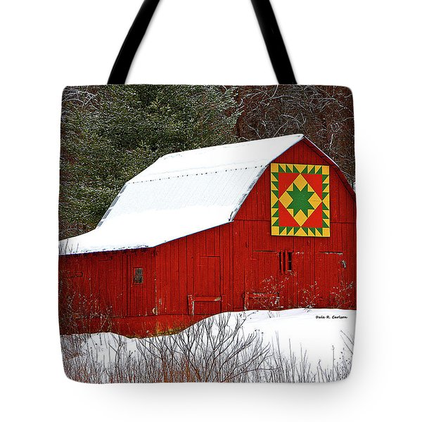 Delectable Mountains Snow Tote Bag