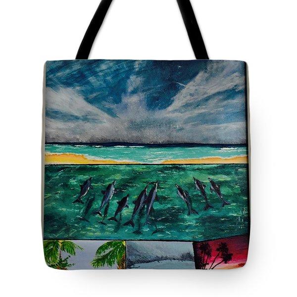 Delfin Tote Bag