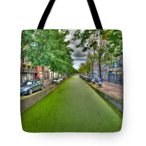 Delft Canals Tote Bag by Uri Baruch