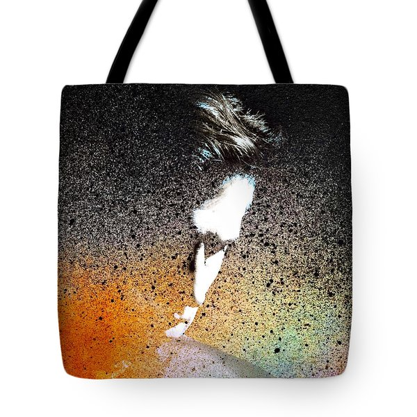 Tote Bag featuring the painting Deliberation  by Mark Taylor