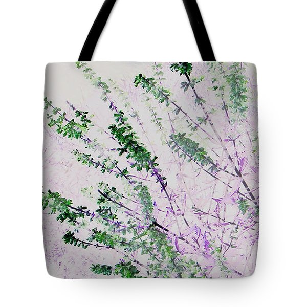 Tote Bag featuring the photograph Delicacy by Lenore Senior