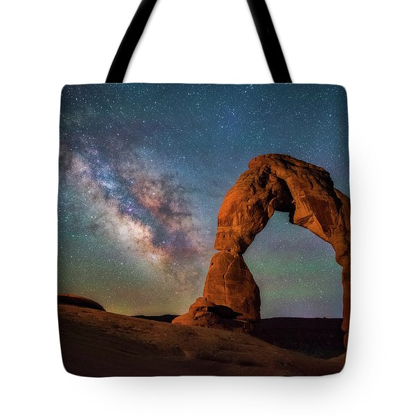 Tote Bag featuring the photograph Delicate Air Glow by Darren White