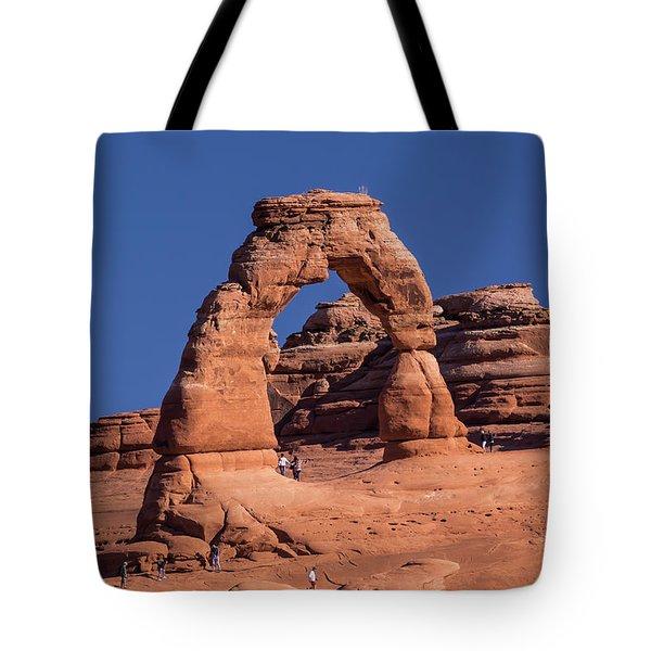 Delicate Arch - 8574 Tote Bag