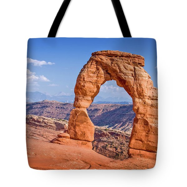 Delicate Arch Arches National Park Tote Bag