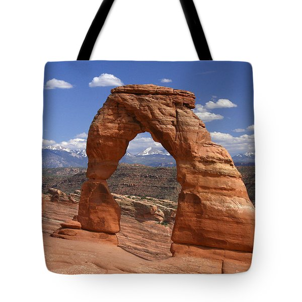 Delicate Arch Tote Bag by Winston Rockwell