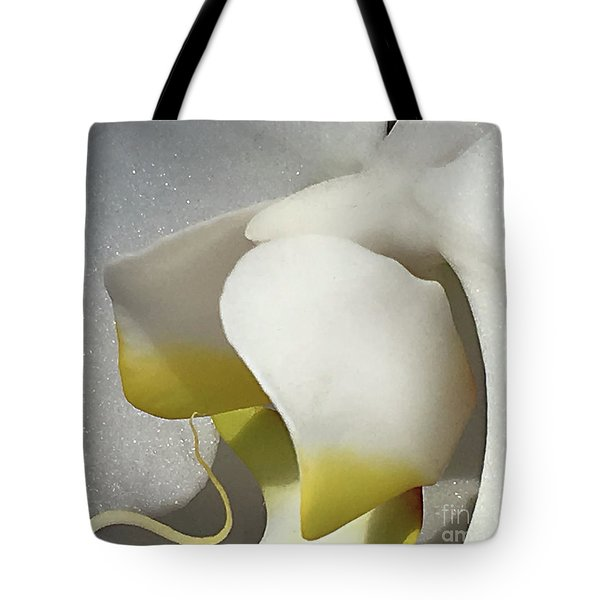 Delicate As Egg Yolk Tote Bag by Sherry Hallemeier