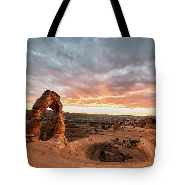 Delicate At Sunset Tote Bag