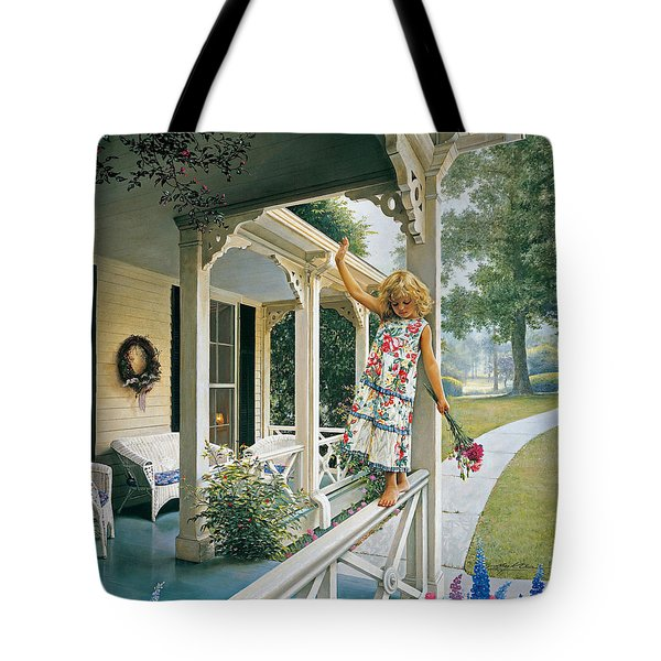 Delicate Balance Tote Bag by Greg Olsen