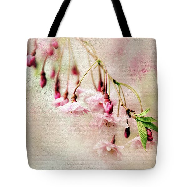 Tote Bag featuring the photograph Delicate Bloom by Jessica Jenney