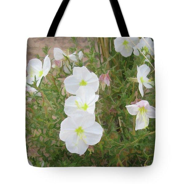 Delicate Desert Bloom - Death Valley Tote Bag