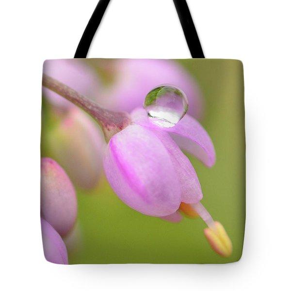 Delicate Drop Tote Bag