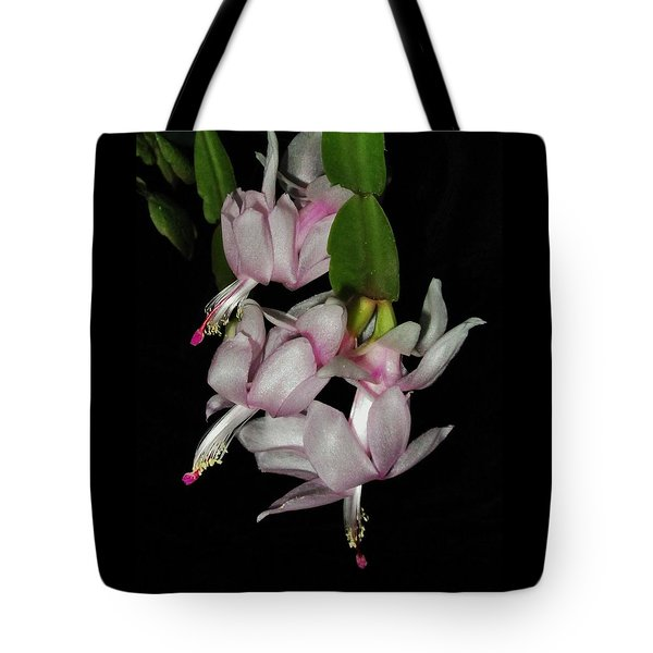 Delicate Floral Dance Tote Bag