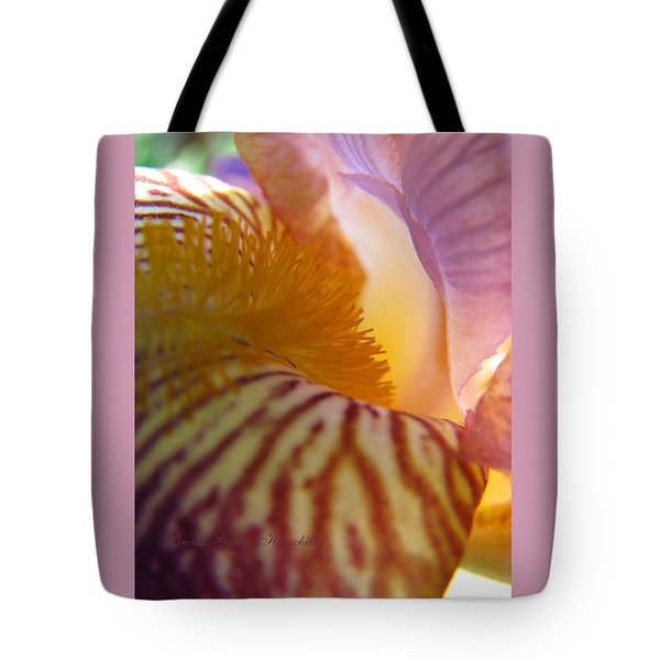 Iris Spring - See Me Now Tote Bag by Brooks Garten Hauschild