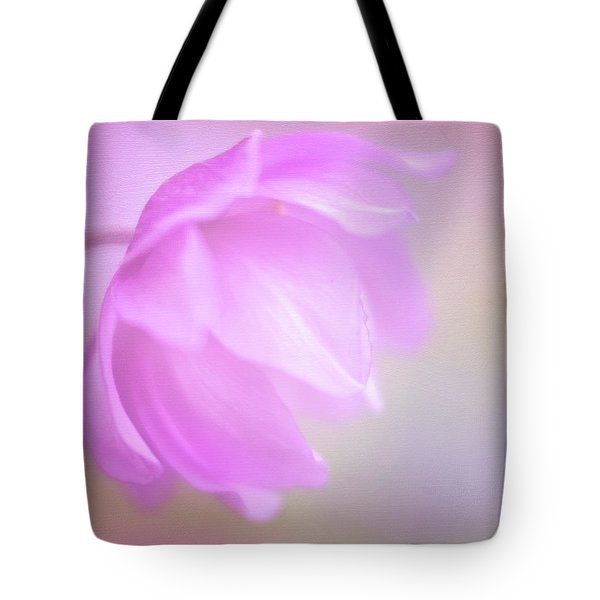 Delicate Pink Anemone Tote Bag