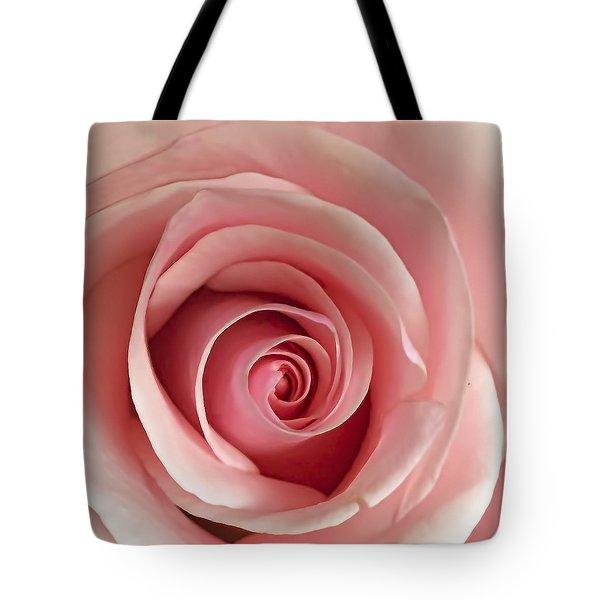 Delicate Rose Tote Bag by Andrew Soundarajan