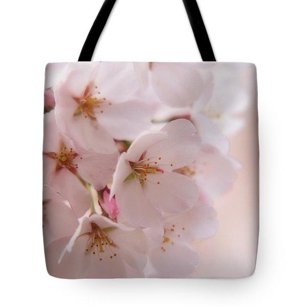 Delicate Spring Blooms Tote Bag