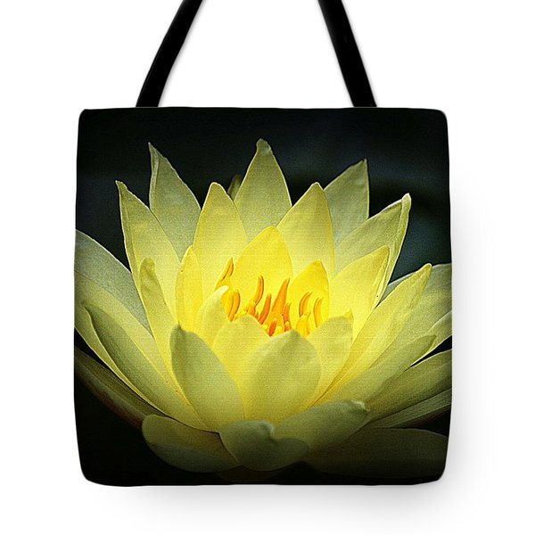 Delicate Water Lily Tote Bag