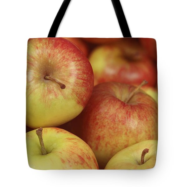 Delicious Apple Fruit Background Tote Bag
