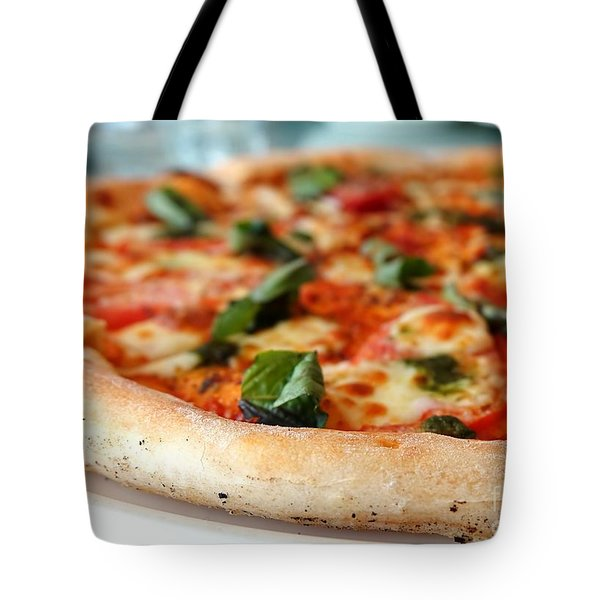 Delicious Crust Of Pizza Margherita Tote Bag
