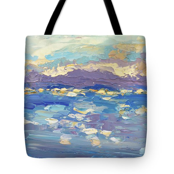 Delight Tote Bag by NatikArt Creations