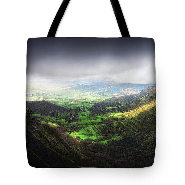 Delika Canyon Tote Bag