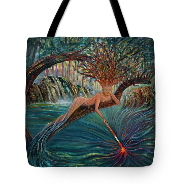 Deliverance Tote Bag by Claudia Goodell