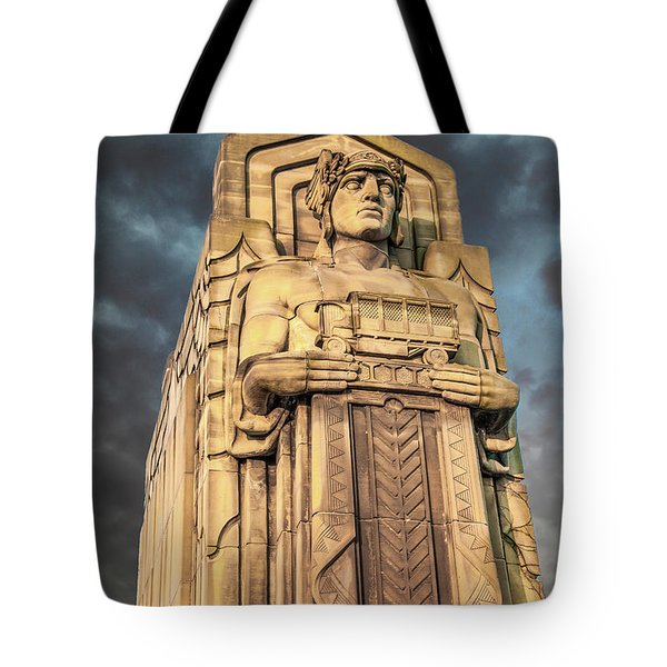 Delivery Truck Guardian Tote Bag