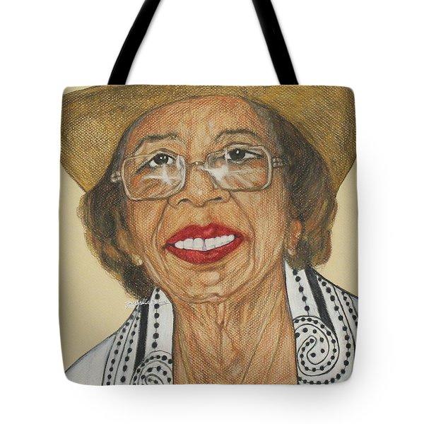 Della Willis Portrait Tote Bag