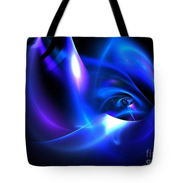 Delphinium Tote Bag by Kim Sy Ok
