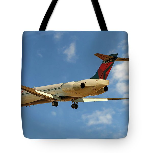 Delta Airlines Boeing 717-200 Tote Bag