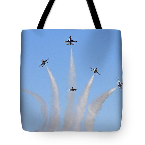 Delta Burst Tote Bag