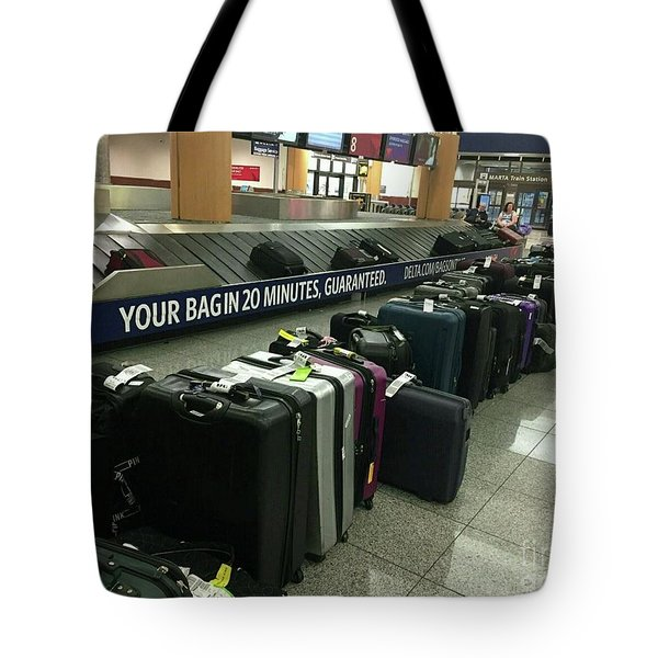 Tote Bag featuring the photograph Delta Irony by David Bearden