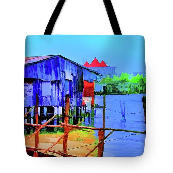 Delta Cove Tote Bag