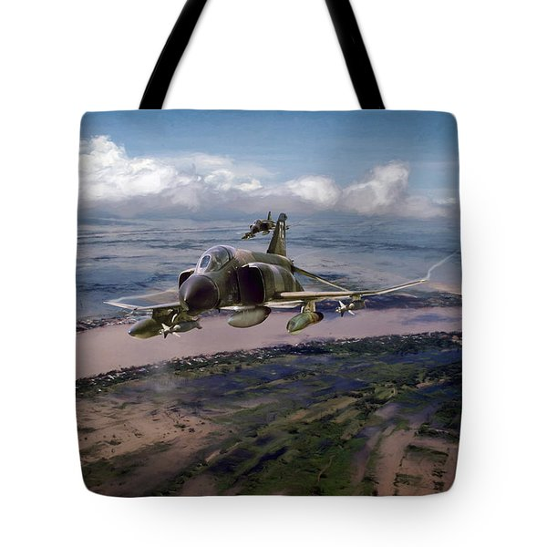 Tote Bag featuring the digital art Delta Deliverance by Peter Chilelli