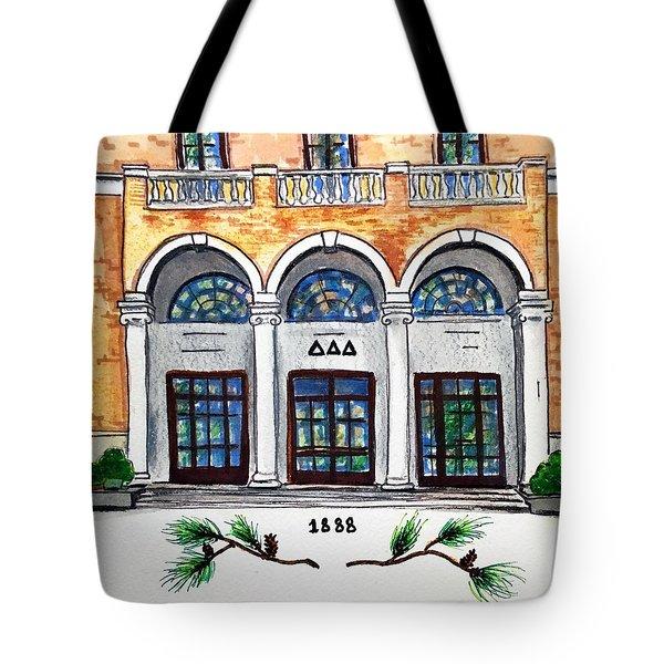 Delta Delta Delta Tote Bag