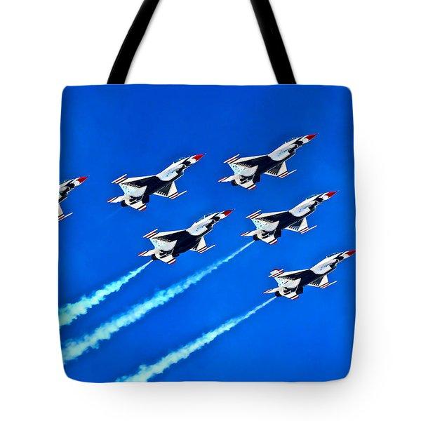 Delta Formation Tote Bag