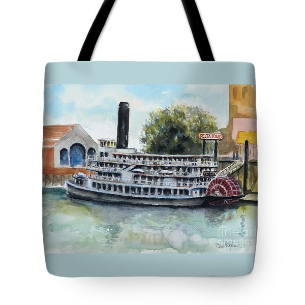 Delta King Tote Bag