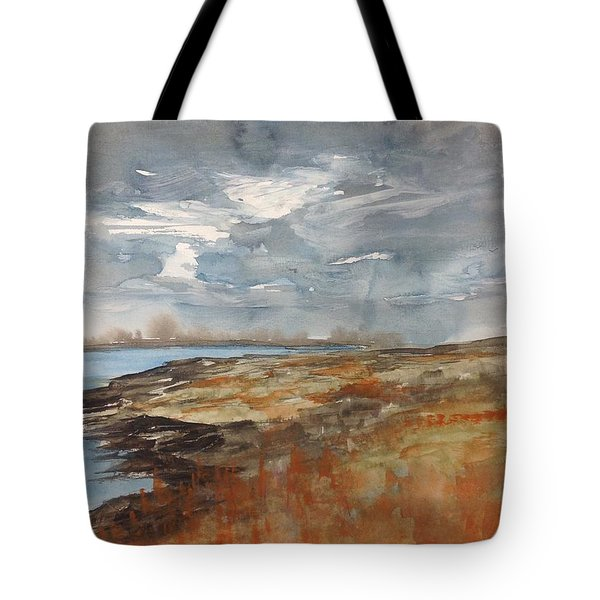 Delta Marsh - Fall Tote Bag