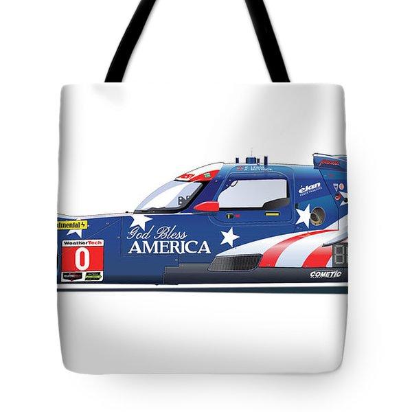 Deltawing Le Mans Racer Illustration Tote Bag