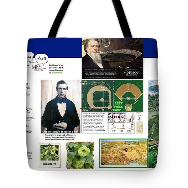 Delusional Grandeur Tote Bag by Peter Hedding