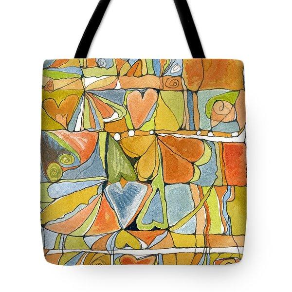 Delusions Of The Heart Tote Bag by Linda Kay Thomas