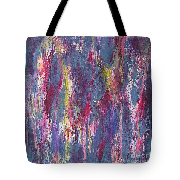 Tote Bag featuring the painting Delve Deep 2 by Mini Arora