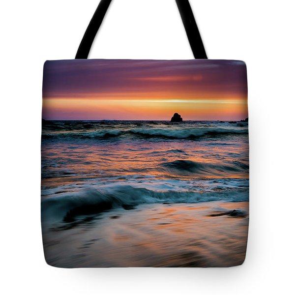 Demartin Beach Sunset Tote Bag