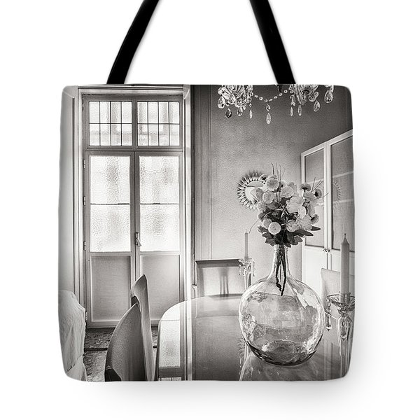 Tote Bag featuring the photograph Demijohn And Window Cadiz Spain by Pablo Avanzini