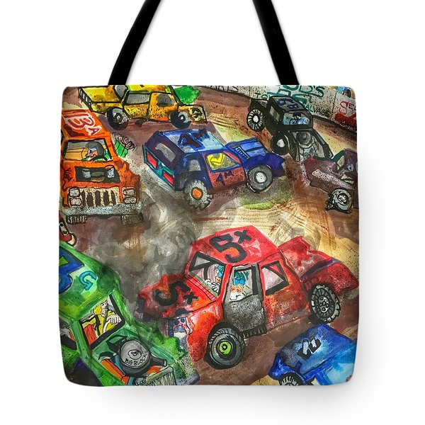 Demo Derby One Tote Bag
