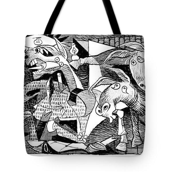 Democrat Guernica Tote Bag